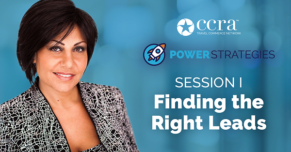 PowerStrategies Session 1: Finding the Right Leads with Tammy Levent