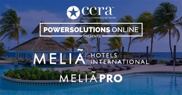CCRA PowerSolutions Online Melia Hotels International Webinar