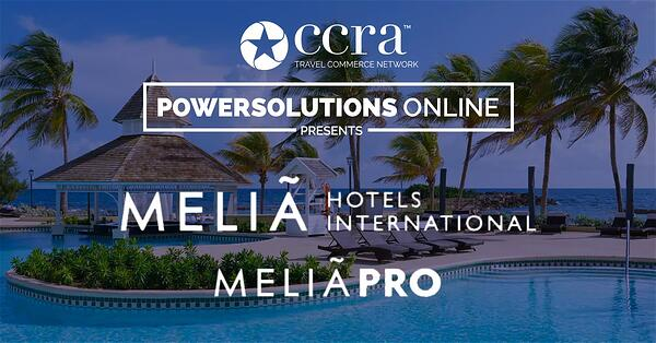 CCRA PowerSolutions Online Melia Hotels International Webinar
